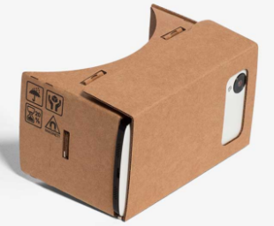 google glasses cardboard